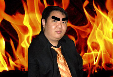 Fire makes Andrew Kim him evil.